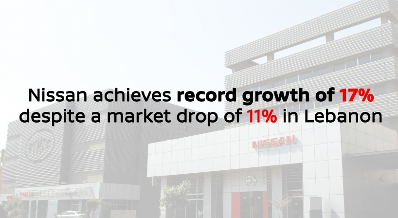 Nissan sales grow 17% in 2018