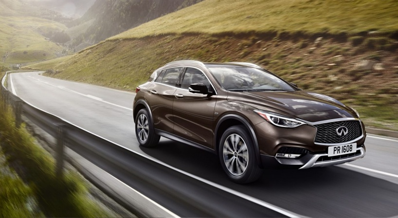 The first ever INFINTI QX30 arrives in Lebanon